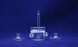 CO2 glazen diffussor L