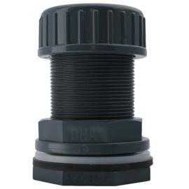 PVC doorvoer knel buis 50 mm