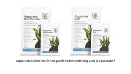 Aquarium bodem, wat is een goede bodembedekking voor je aquascape?
