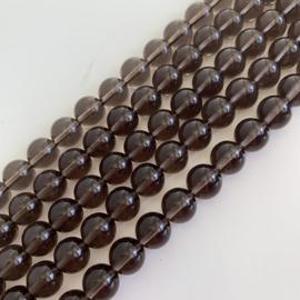 Obsidiaan kralen 8 mm rond
