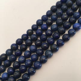 Lapis Lazuli kralen 6 mm rond