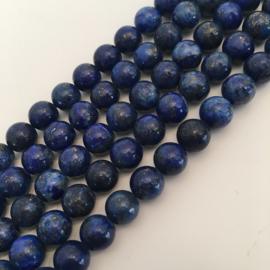 Lapis Lazuli kralen 8 mm rond