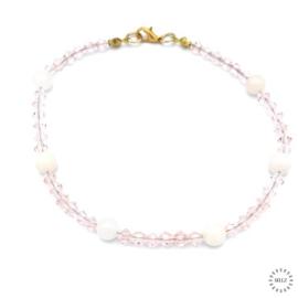 Aventurijn roze armband 24 cm