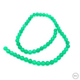 Aventurijn groen kralen 6 mm