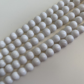 Marmer kralen 6 mm rond