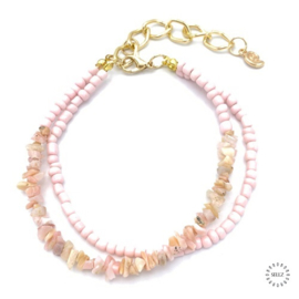 Opaal armband 31 cm