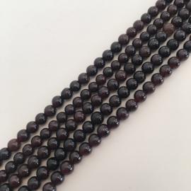 Granaat kralen 4 mm