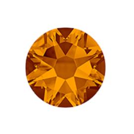 Xirius rose SS 34 flat back Tangerine