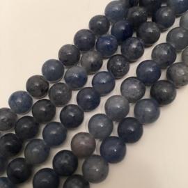 blauwe Aventurijn kralen 8 mm rond