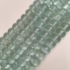 Aquamarijn rondel 5 x 8 mm