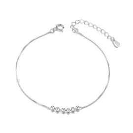 Armband Sterling Zilver 26 cm platina grote maat armband