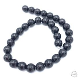Black Stone kralen 12 mm