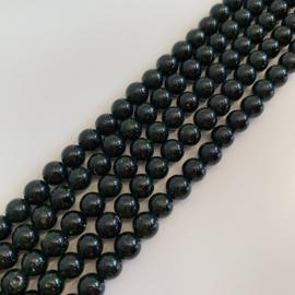 groene Goudsteen kralen 6 mm rond