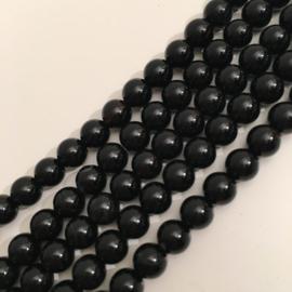 Agaat kralen zwart
