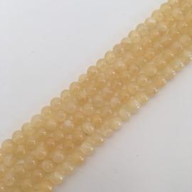 Ambroniet kralen 4 mm rond