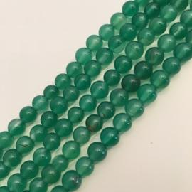 Agaat kralen groen