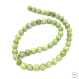 Jade groen kralen 8 mm