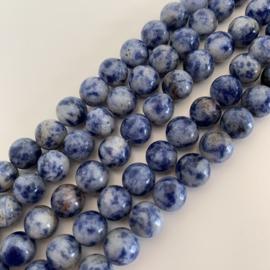 Jaspis Blue Spot kralen 8 mm rond