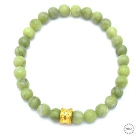 Jade armband 18.5 cm