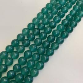 groene Agaat kralen 6 mm rond