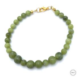 Jade armband 21 cm