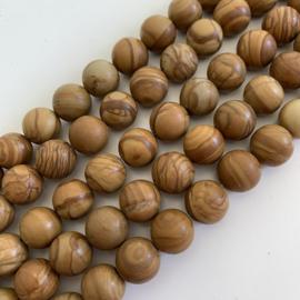 Jaspis Tijgerhuid kralen 10 mm rond