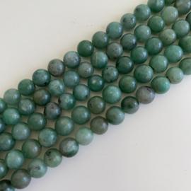 Afrikaanse Jade kralen 6 mm rond