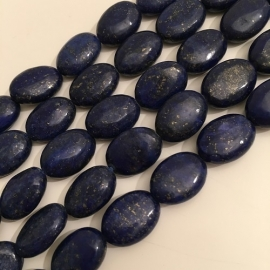 Lapis Lazuli kralen ovalen