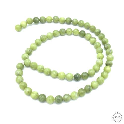 Jade groen kralen 6 mm