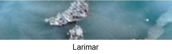 Larimar kralen, edelsteen kralen, Larimar informatie