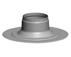 Plakplaat voor dakdoorvoer plat dak 180 mm