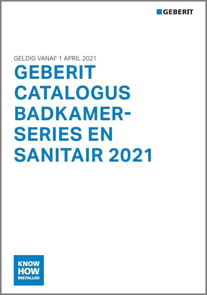 Officiële prijslijst Geberit 2021