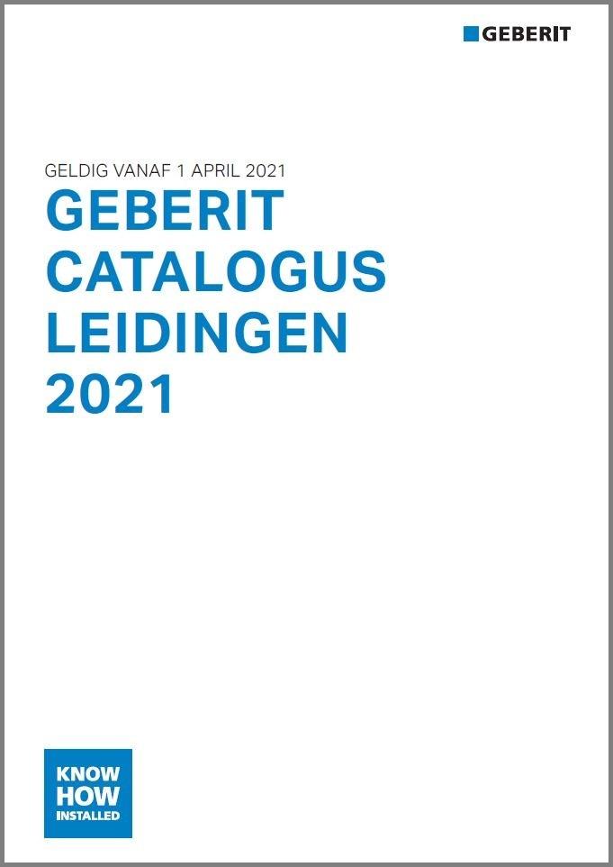 Officiële prijslijst Geberit leidingen 2021