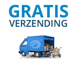 Gratis levering in heel België!