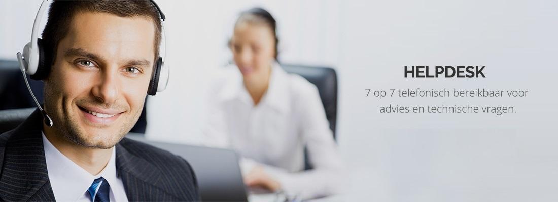 Contacteer de klantendienst