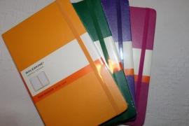 Moleskine notitieboek A5, gelinieerd