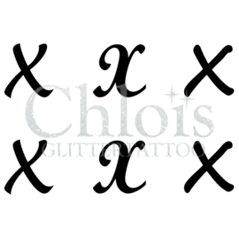 Letter X (Multi Stencil 6)