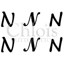 Letter N (Multi Stencil 6)