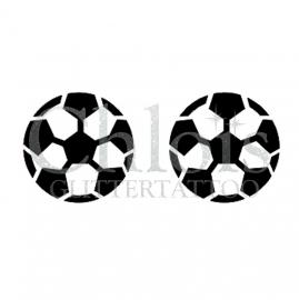 Soccer Football (Duo Stencil)