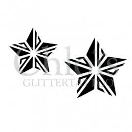 Two Stars (Duo Stencil)