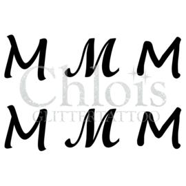 Letter M (Multi Stencil 6)