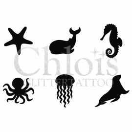 Sea Life (Multi Stencil 6)