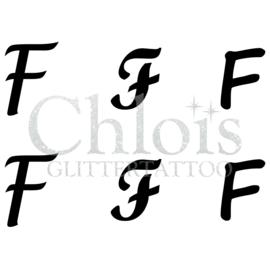 Letter F (Multi Stencil 6)