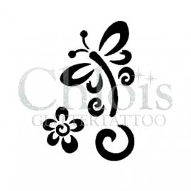 Stencils Butterfly