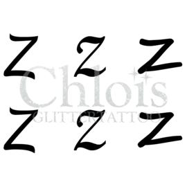 Letter Z (Multi Stencil 6)