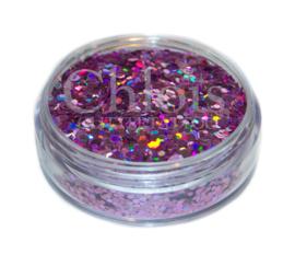 Chloïs Glitter Flakes Laser Peach 10 ml