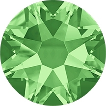 Swarovski Elements Peridot model 2058 size SS20