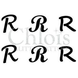 Letter R (Multi Stencil 6)