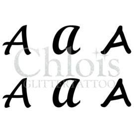 Letter A (Multi Stencil 6)