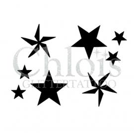 Four Stars (Duo Stencil)
